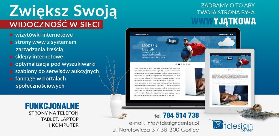 strony internetowe gorlice - tdesign center