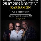 Keith Thompson Band 25.07.2019 Koncert